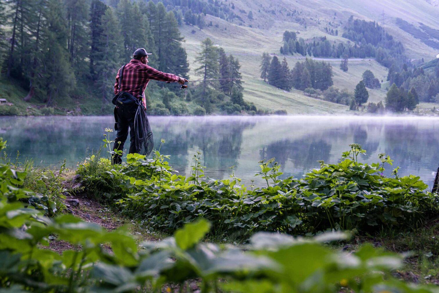 Graubünden Leben & Arbeiten - Der Angler