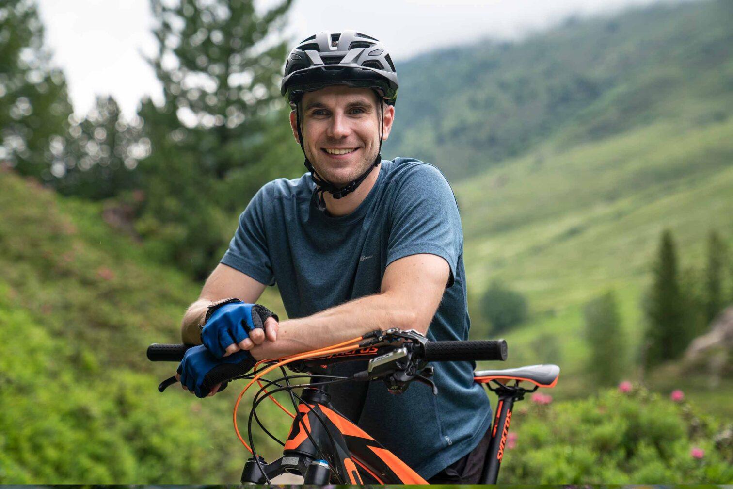 Graubünden Leben & Arbeiten - Der Biker