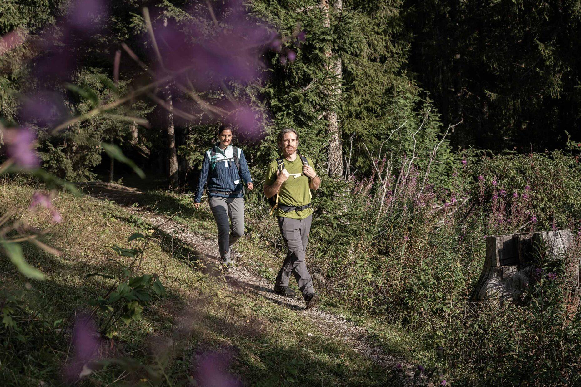 Wandern: Fotoproduktion für Gstaad Tourismus