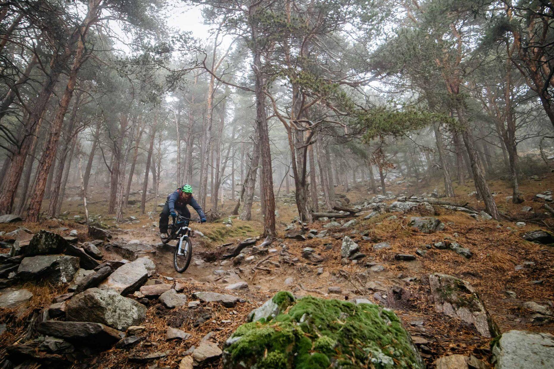 Mountainbike-Fotoproduktion für Schwalbe