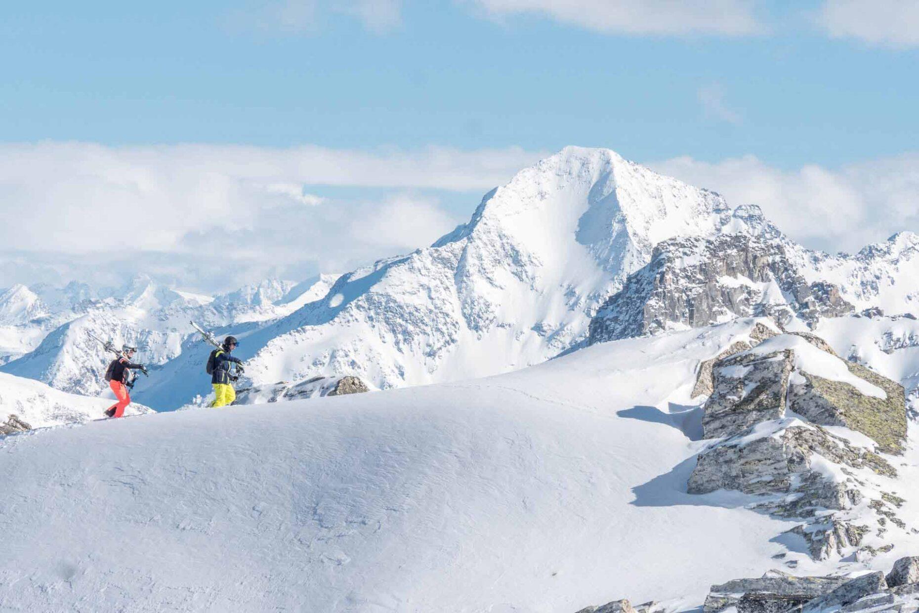 Ski-Fotoproduktion für McKinley in der Schweiz
